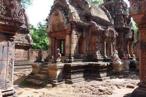 Blog 3 Banteay Srei centre