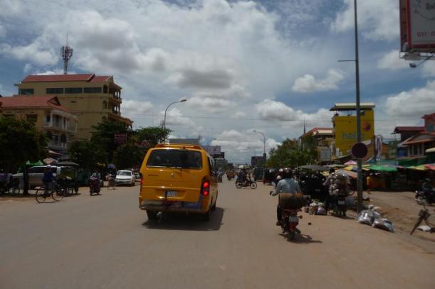 Entrée dans Siem reap