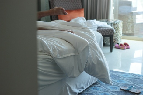 Bon, là c'est pas du jeu, on était invité au Sheraton de Kuta Bali (Indonésie) par un ami; Ca doit faire dans les 400$ la nuit.