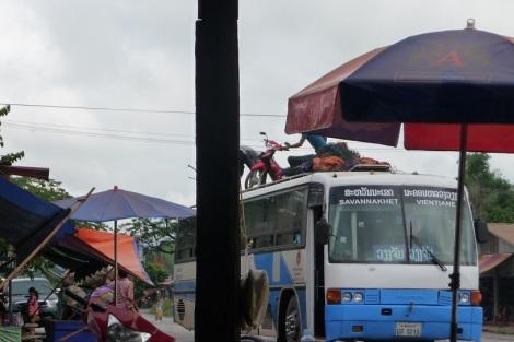 Un coup de flemme ? Prenez le bus, votre mob sera sur le toit !