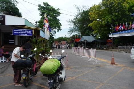 Frontière-Thaïlande-Cambodge
