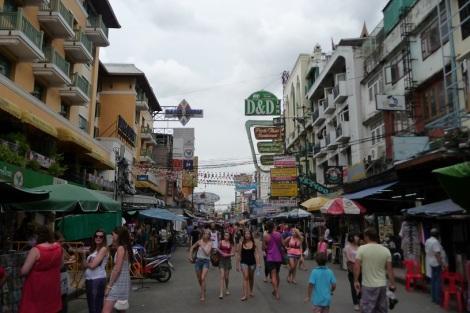 rue-touristique-bangkok
