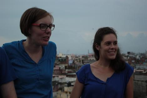 Emi à droite, Aurélie à gauche