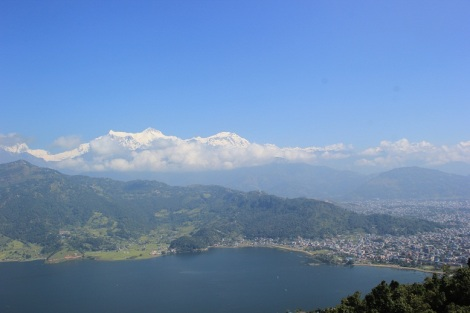 Pokhara, son lac et ses Annapurna